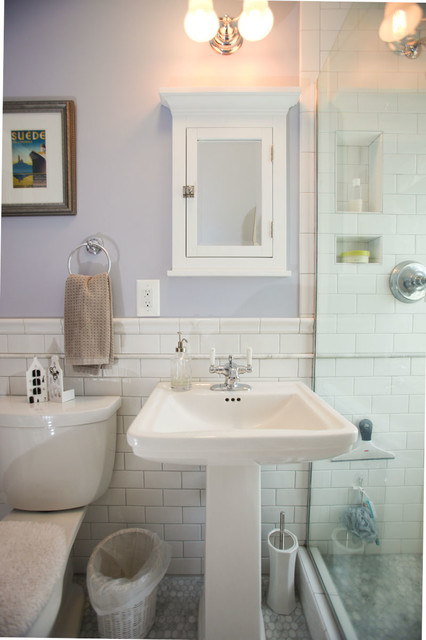 Minneapolis Victorian Bathroom Remodel Traditional