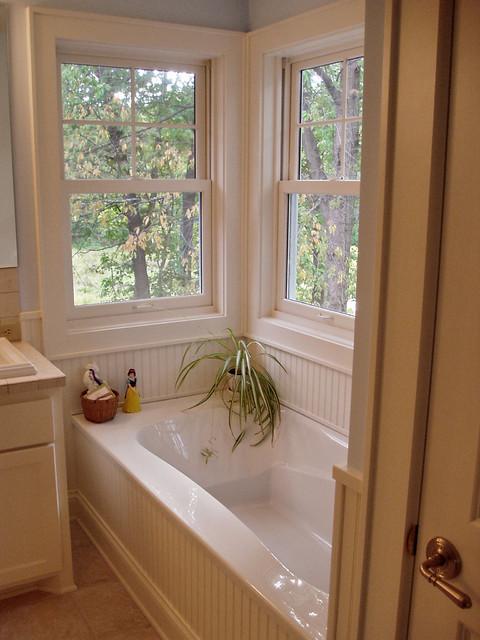 Minnetonka Split Entry to Full Two Story remodel traditional-bathroom