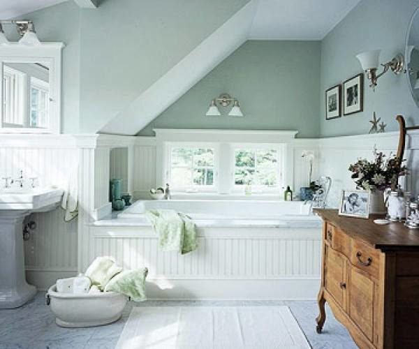 Mint green bathroom traditional bathroom mexico city for Pretty bathroom decorating ideas