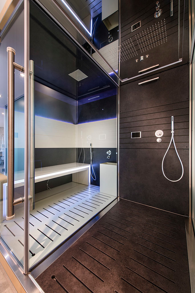 Inspiration for a contemporary bathroom remodel in Perth