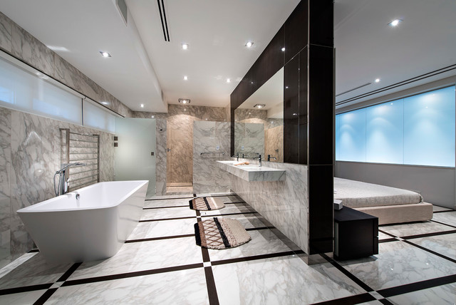 Minum Cove Concept Home Perth Wa Contemporary Bathroom Perth By European Ceramics