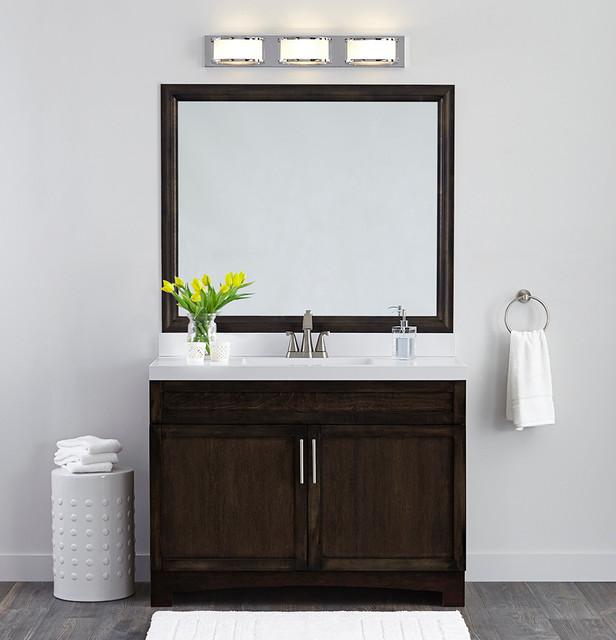 MirrorMate Frame Bathroom Makeovers - Contemporary ...
