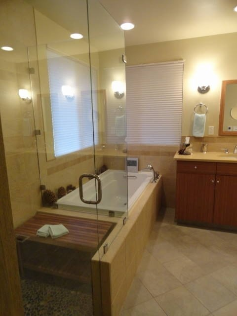 V.  Miscellaneous Bathroom Remodels traditional