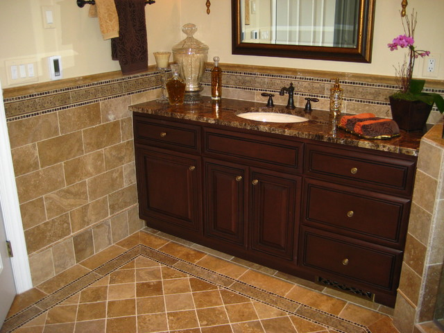 Misc Tile Jobs Traditional Bathroom Charlotte By