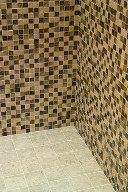 Mission District, San Francisco - Mosaic Tile Bathroom contemporary-bathroom