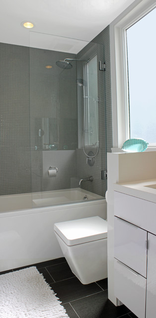 Mission Modern modern bathroom
