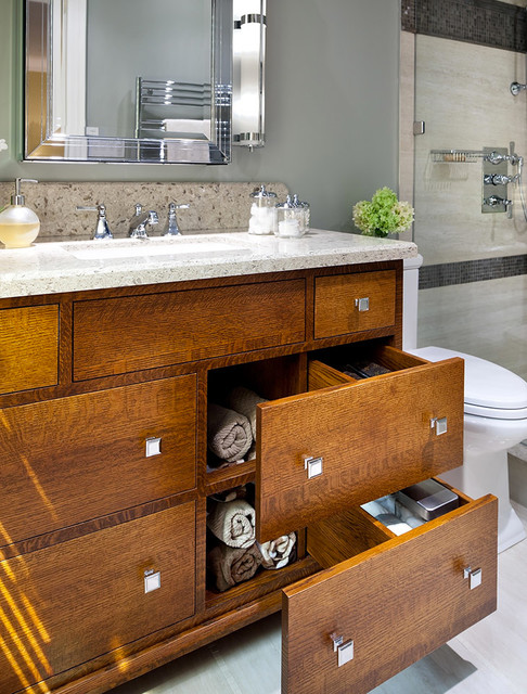 Mission Vanity Traditional Bathroom Toronto By