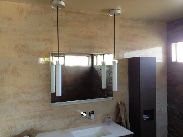 Mitch S. bathroom design - modern - bathroom - new york - by