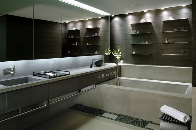 Mizner Park Boca Residence Contemporary Bathroom