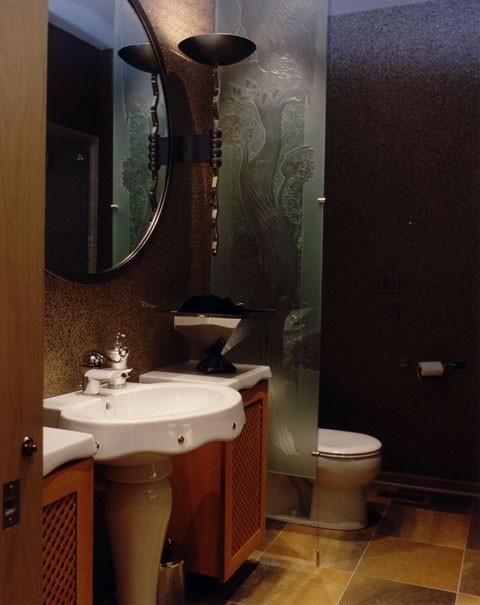 MJM Design Group eclectic-bathroom