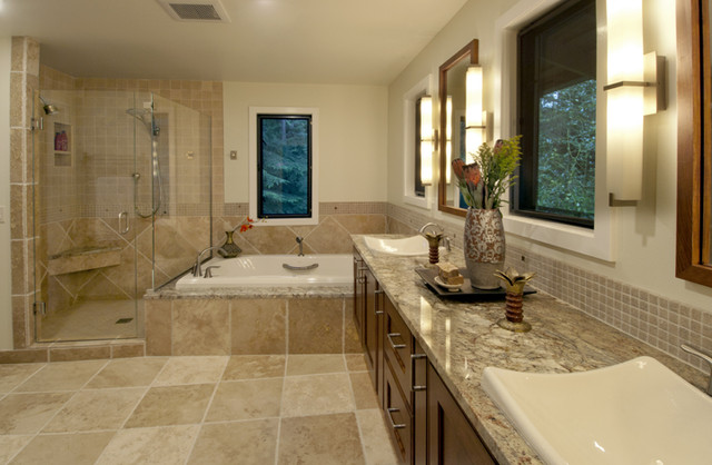 MLB design group contemporary-bathroom