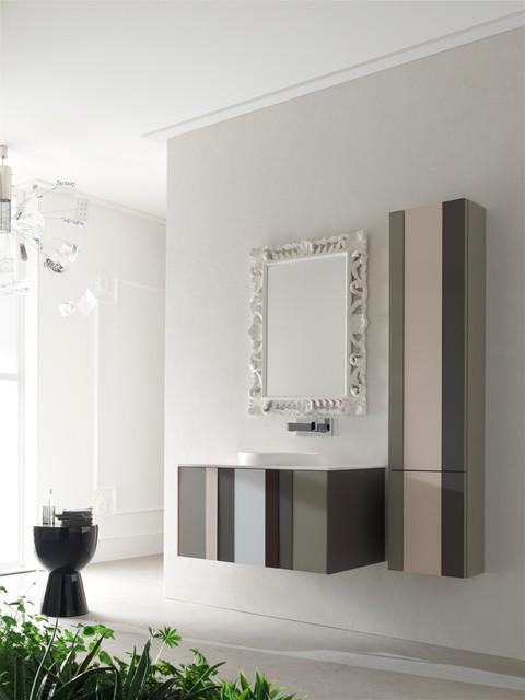 Mobilier de salle de bain spring d 39 arcom contemporary - Mobilier salle de bain ...