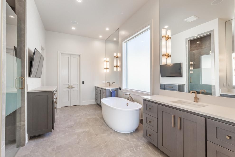 Model Home 2017 - Transitional - Bathroom - Oklahoma City ...