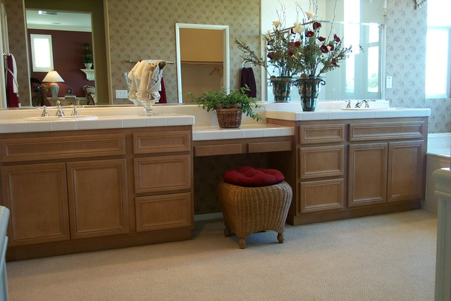 Model Home traditional-bathroom