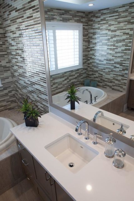 Model homes bathrooms contemporary bathroom other for Model home bathroom photos
