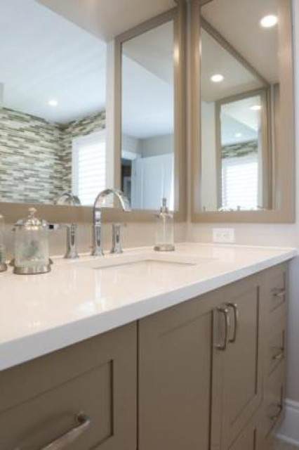 Model Homes Bathrooms Contemporary Bathroom Other