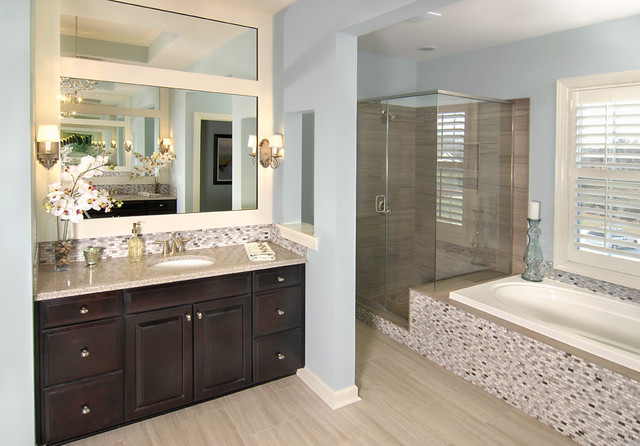 Model homes bathroom charlotte by shea homes charlotte for Model bathrooms photos