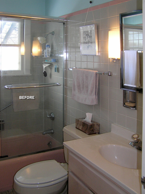 Modern 5x8 39 bathroom traditional bathroom milwaukee for Small bathroom design 5 x 10