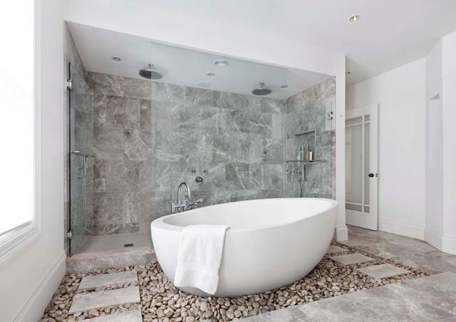 Awesome Master Bathroom  Contemporary  Bathroom  Boston  By Designer Bath