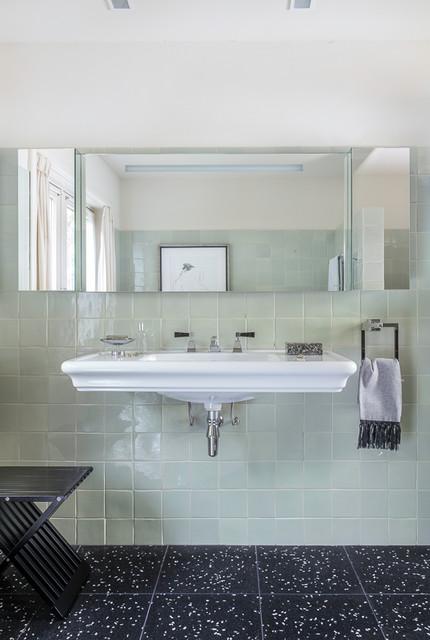 Modern Art Deco Bathroom Traditional Bathroom Amsterdam By Babs Appels Interieurarchitectuur Houzz Uk