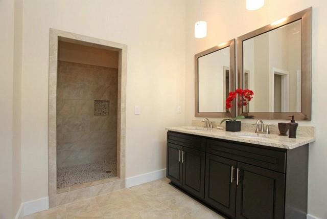Modern Atlanta Bungalow contemporary-bathroom