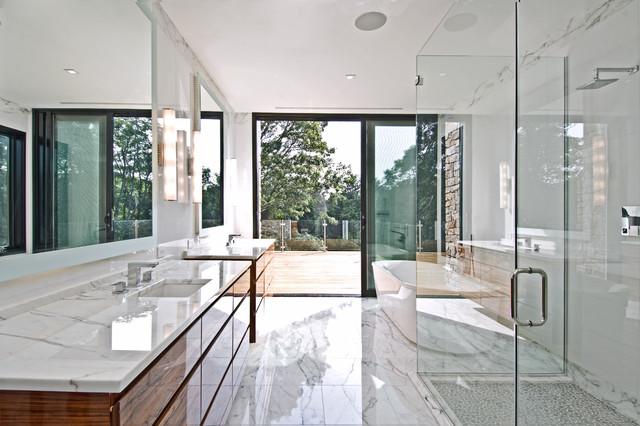 """Modern Barn®, """"Solare"""" modern-bathroom"""