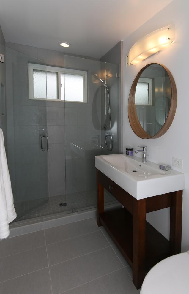 Modern Bath Remodel - San Jose - Contemporary - Bathroom ...