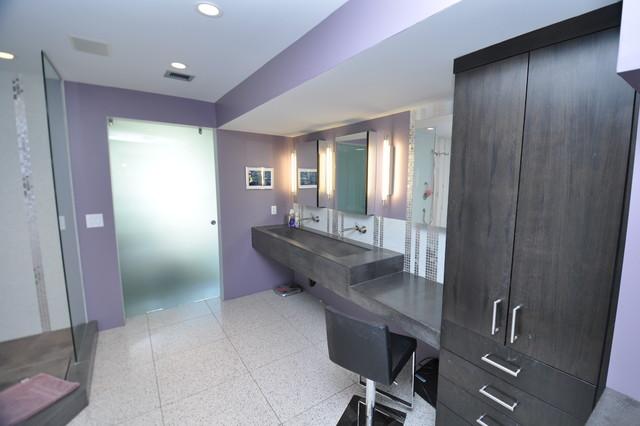 Modern bath remodel scottsdale az for Bath remodel phoenix