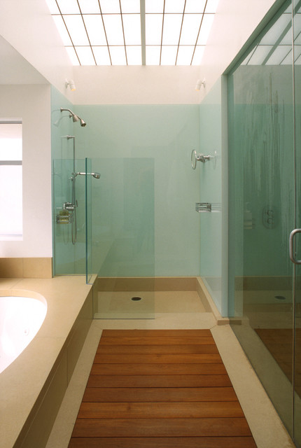 Modern bathroom - Houzz banos ...