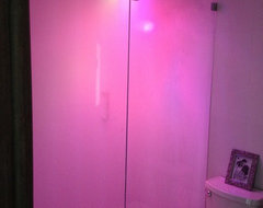 Chromotherapy Steam Shower Lighting! modern-bathroom
