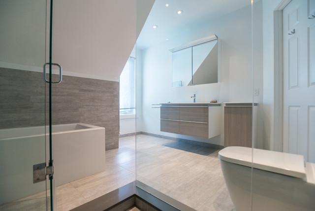 Modern Bathroom Modern Bathroom Toronto By Carick Home Improvements