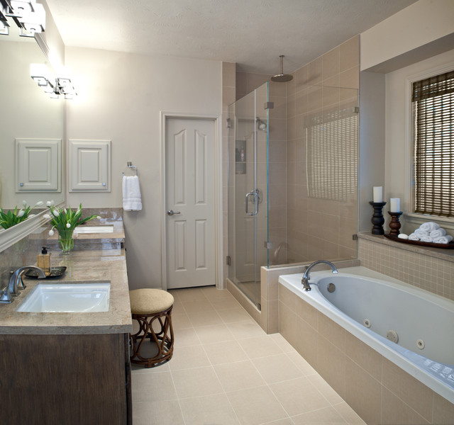 Bathroom Ideas: Modern Master Bath Remodel