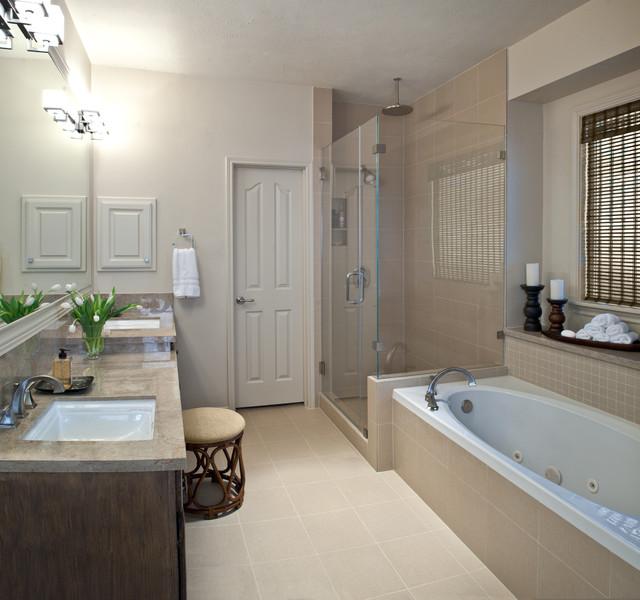 Modern Master Bath Remodel - Modern - Bathroom - houston ...