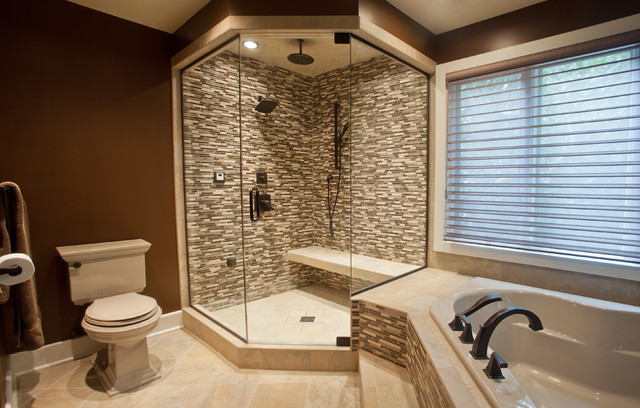 Tile Shower Designs modern bathroom - contemporary - bathroom - other -criner