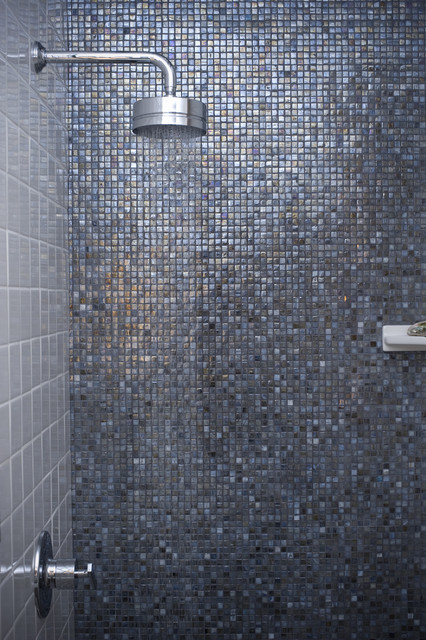 Blue Shimmer ~ Market Collection modern bathroom