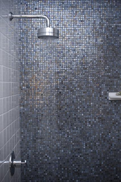 Blue Shimmer ~ Market Collection modern-bathroom