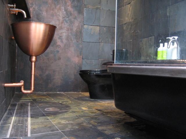 Brooklyn Loft Bathroom Modern Bathroom New York By Hermogeno Designs