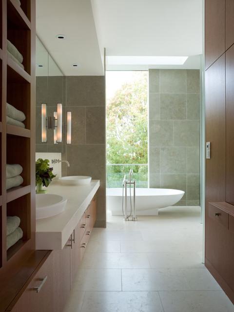 Modern Bathroom - Hillside Residence contemporary-bathroom