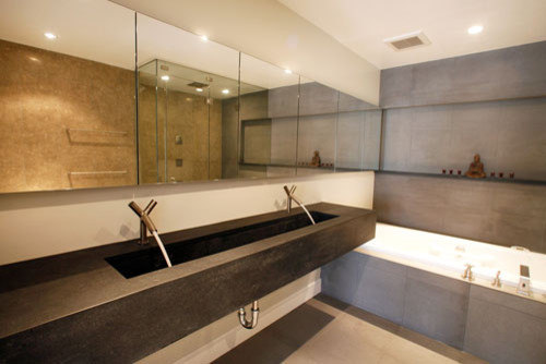 Mostert Architecture modern bathroom