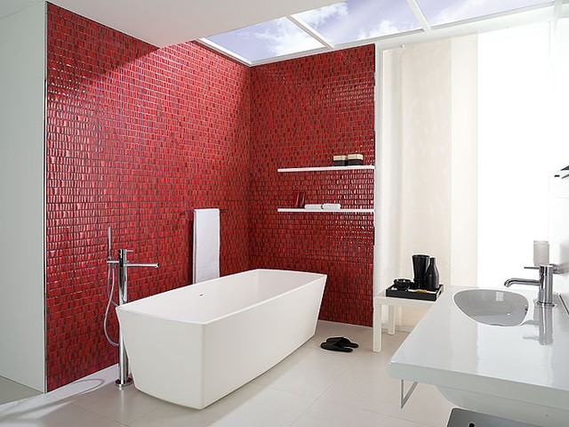"""New Generation Mosaic"" bathroom modern-bathroom"