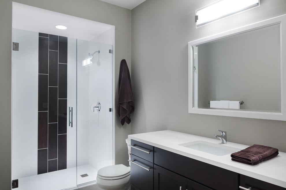 Modern Bathroom in North Mankato, MN - Transitional ...