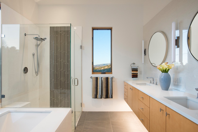Modern Bathroom Interiors By Jennifer Ashton Allied ASID Modern Delectable Interior Design Albuquerque Minimalist