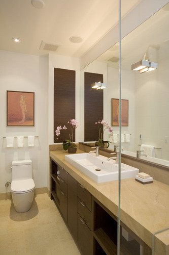 J. Weiss Design modern bathroom