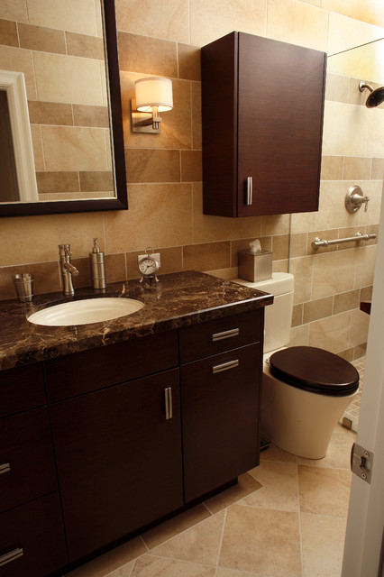Pasadena ca condo remodel modern bathroom los for Condo bathroom designs
