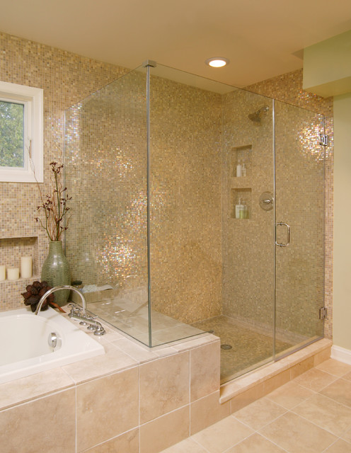 Superb Transitional Bathroom Modern Bathroom