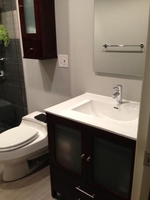 Modern Bathroom Remodel Modern Bathroom Chicago By