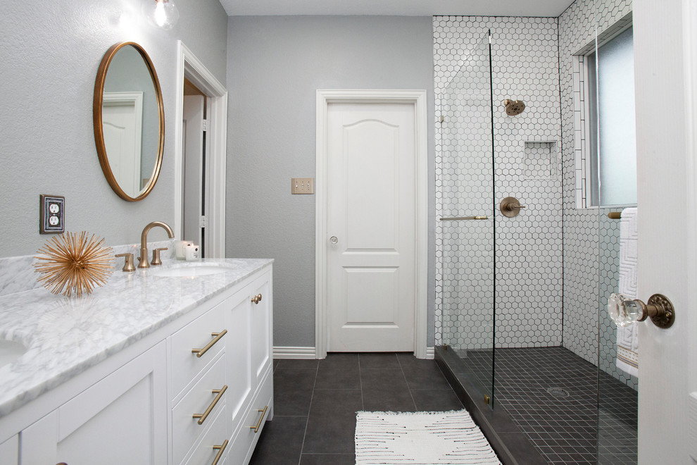 Modern Bathroom Remodel - Modern - Bathroom - Dallas - by ...