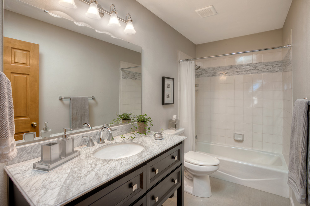 Modern Bathroom Remodel with High End Fixtures and ...