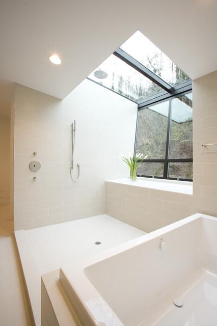 Hoke Residence modern-bathroom