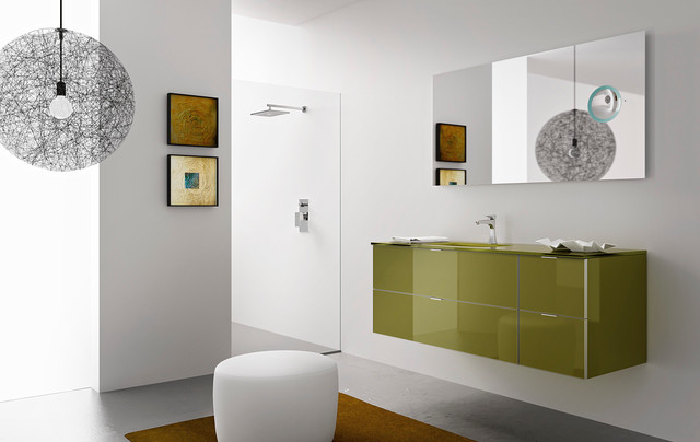 Modern bathroom vanities diva in san diego modern bathroom san diego by italian kitchen for Bathroom vanities san diego